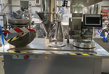 Masina de ambalat in capsule  DEG.25.1